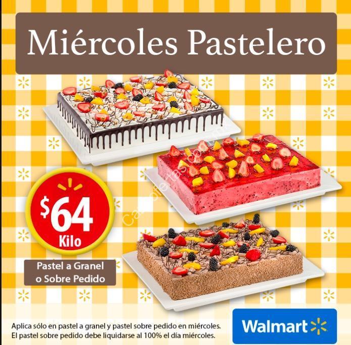 Miércoles pastelero Walmart: Pastel a granel y sobre pedido a sólo ...