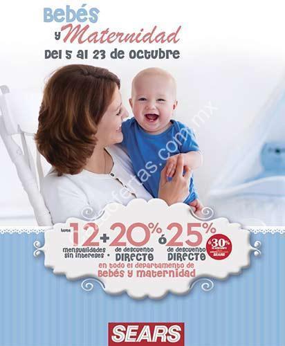 aa41a151c En Sears Quincena de la Maternidad con hasta 25% de descuento en bebés y  maternidad
