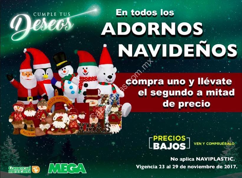 96ff68d066b8a En Comercial mexicana segundo a mitad de precio en todos los adornos  navideños