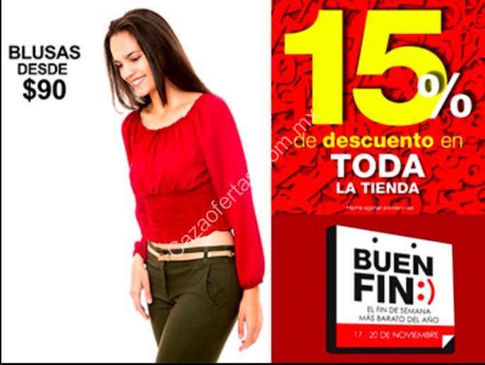 95c06965 Ofertas Lineas Buen Fin 2017: prendas desde $90 pesos