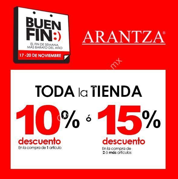 23e2ed70cddd4 Ofertas Zapaterías Arantza Buen Fin 2017  Hasta 15% de descuento en toda la  tienda