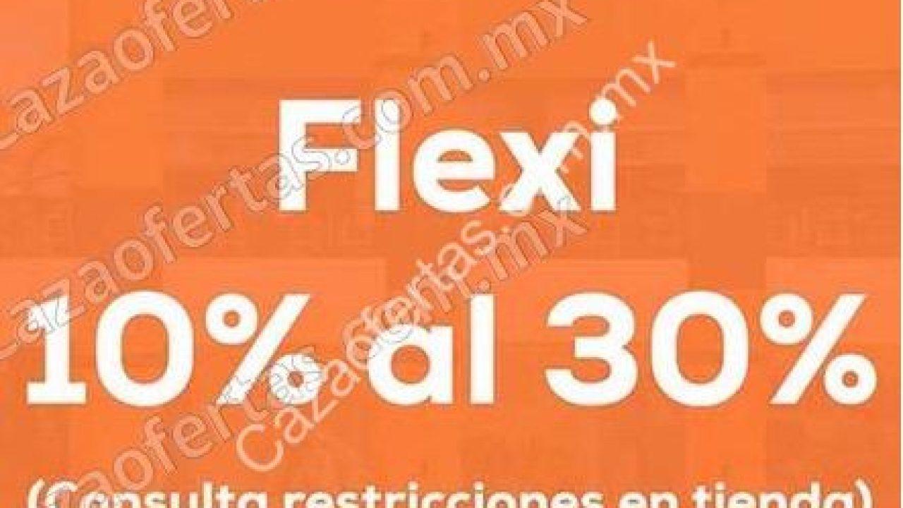 Promoción Flexi Buen Fin 2017: del 10% al 30% de descuento