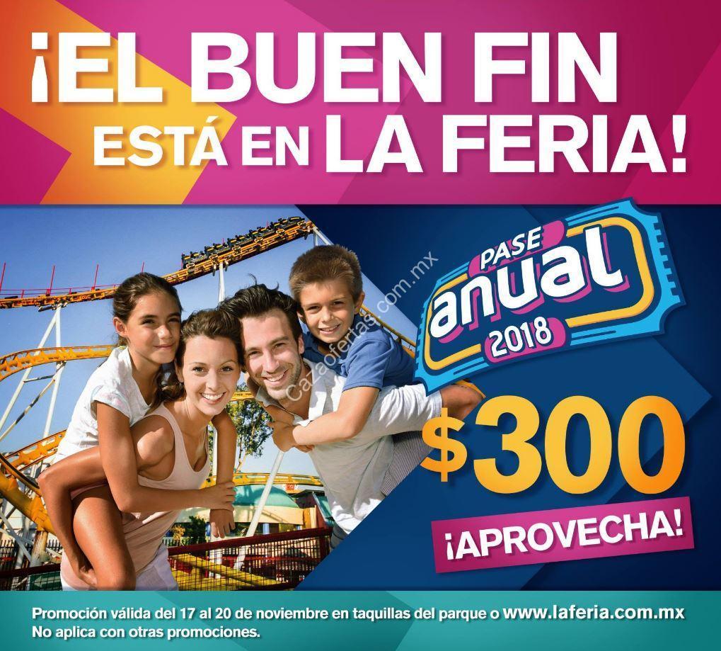 Promocion La Feria De Chapultepec El Buen Fin 2017 Pase Anual 2018