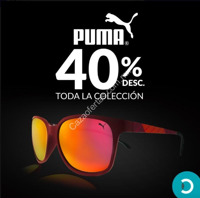 568449f26a En ópticas Devlyn 40% de descuento en lentes de sol Puma