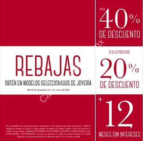 619ca4df957e Rebajas Cristal Joyas  hasta 40% de descuento o 20% + 12 MSI