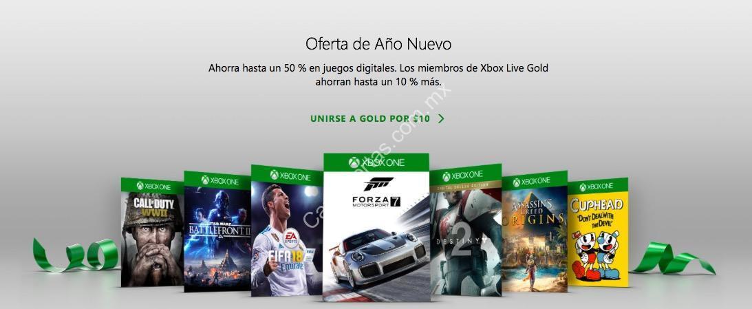 Xbox Live Gold Venta De Ano Nuevo 2018 Con Hasta 50 De Descuento En