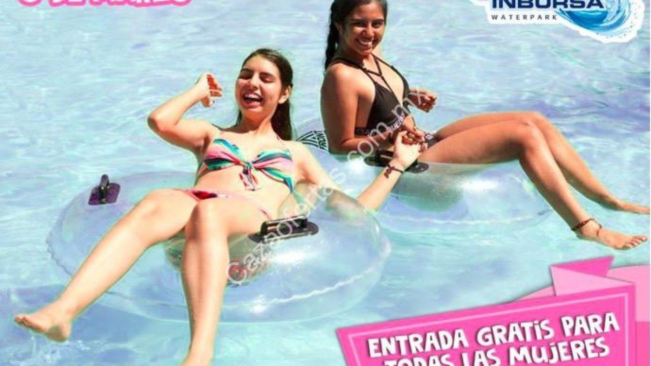 Promoción Aquatico Inbursa Día De La Mujer Entrada Gratis A