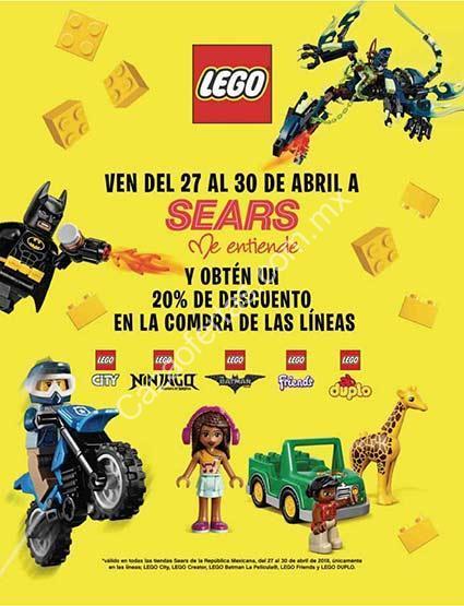 Por Juguetes El En Seleccionados Descuento 20De Sears Lego Día roxeWdCB