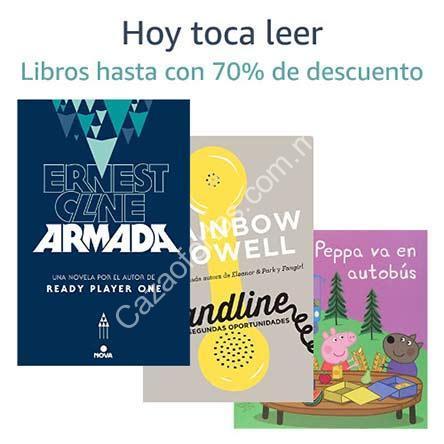 descuento amazon libros 2019