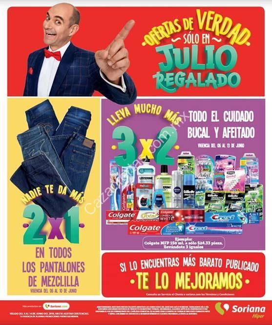 c0bff84506 Folleto de ofertas Julio Regalado 2018 del 6 al 14 de junio