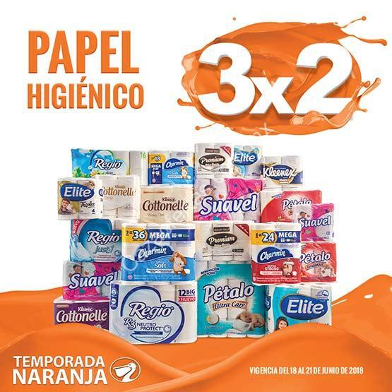 d7aa26ea4 Ofertas Temporada Naranja 2018: 3×2 en todo el papel higiénico