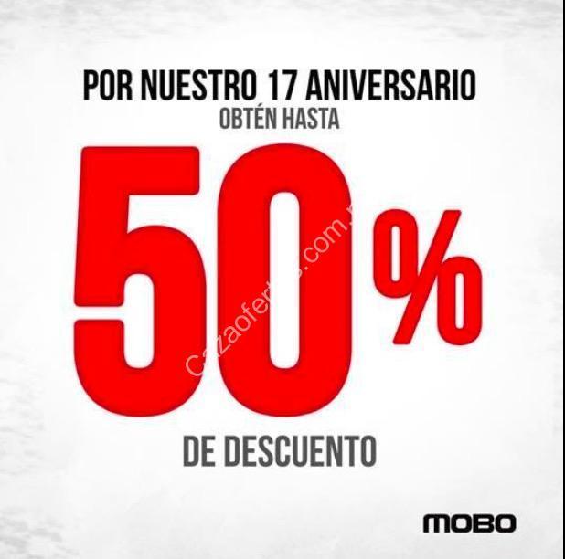 418b5f5972e Promoción Mobo 17 aniversario: Hasta 50% de descuento