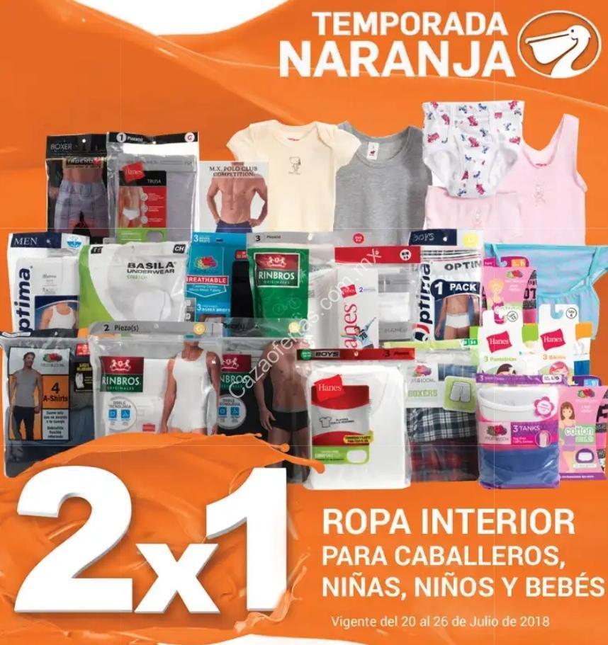 e5bcda5d24 Ofertas Temporada Naranja 2018  2×1 en ropa interior para hombres ...