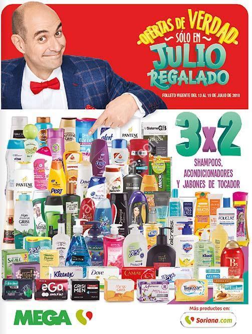 70dab8447 Folleto de ofertas Julio Regalado 2018 del 13 al 19 de julio en Soriana