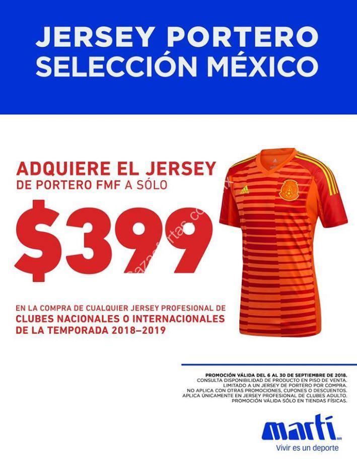 47f66ecdf39a6 En Martí compra un jersey y llévate el jersey de portero de México a sólo   399