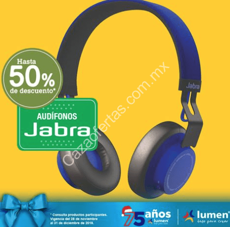 0f373c27b6 50% de descuento en audifonos Jabra en Lumen