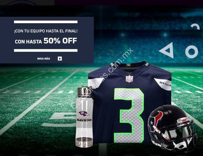 En Netshoes hasta 50% de descuento en productos de la NFL 701a41e4a7f