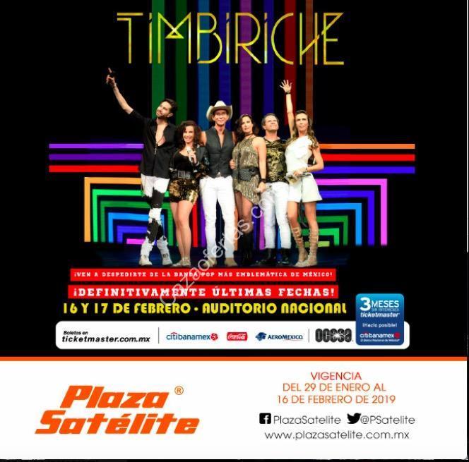 En Plaza Satélite Boletos Gratis Para El Concierto De Timbiriche Con