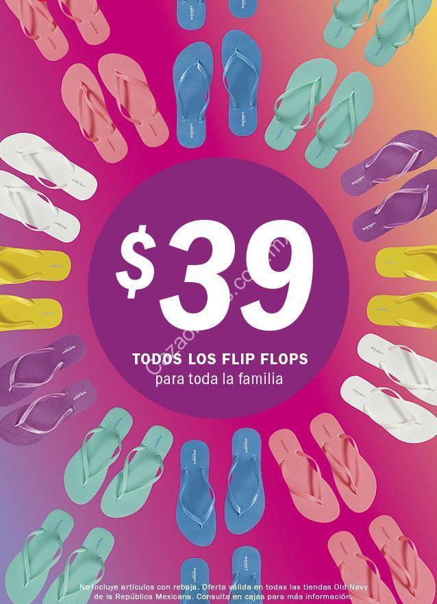 4b818eb3bbd2 Promoción Old Navy Flip Flop Fest 2019  Sandalias a  39 este sábado 13 de  abril