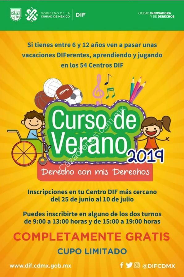 Cursos De Verano 2019 Para Ninos Gratis En Centros Dif De La Cdmx Cupo Limitado