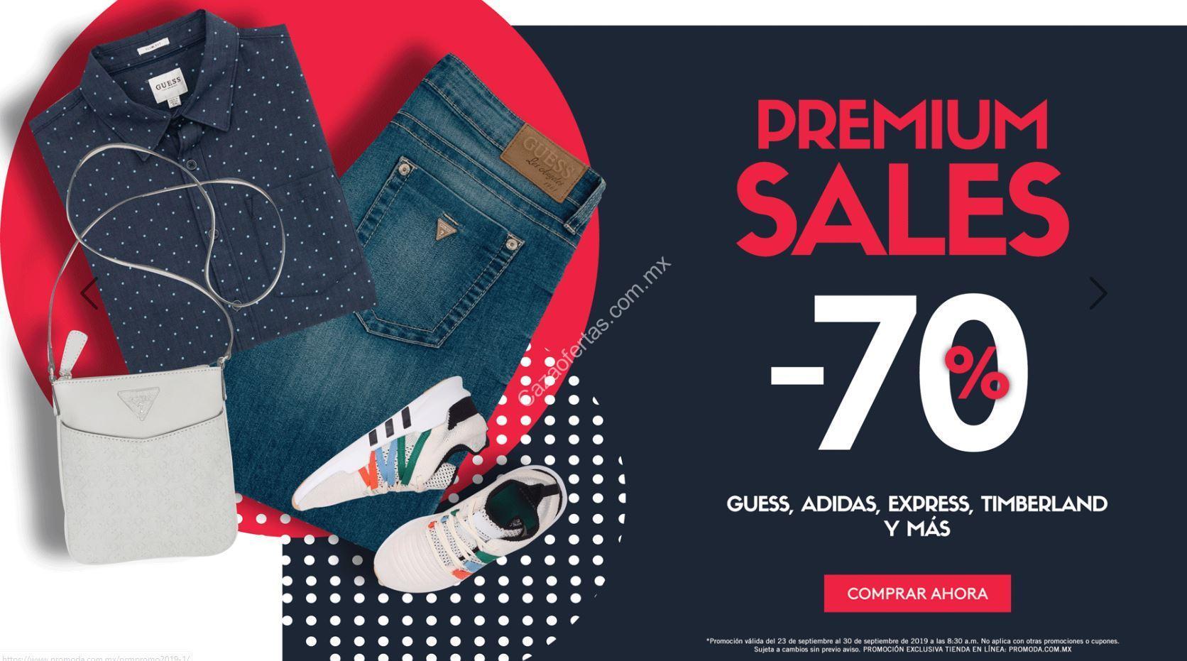 es inutil exposición Ten cuidado  Premium Sales Promoda: 70% de descuento en Guess, Adidas, Express,  Timberland y más