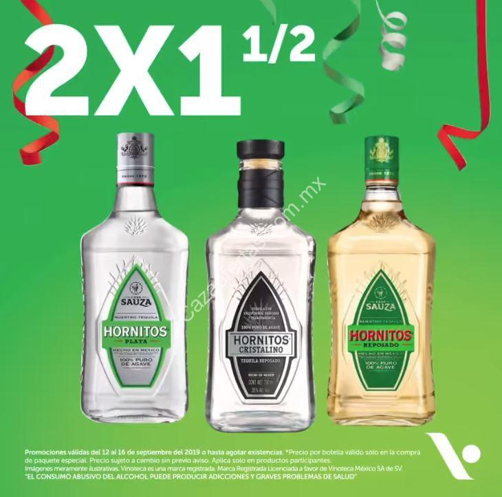 Promociones Vinoteca Fiestas Patrias: 2×1 En Tequilas Y
