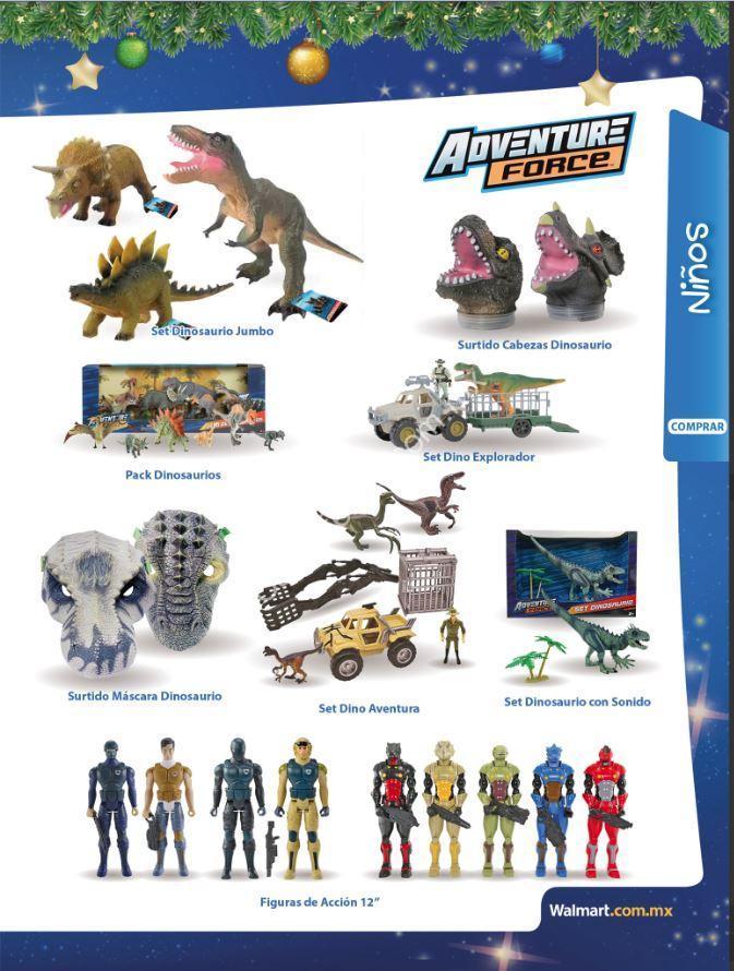 Folleto Walmart Juguetilandia 2019 Del 12 De Octubre Al 7 De Enero 2020 Mini dinosaurio jurassic world sobre sorpresa. folleto walmart juguetilandia 2019 del