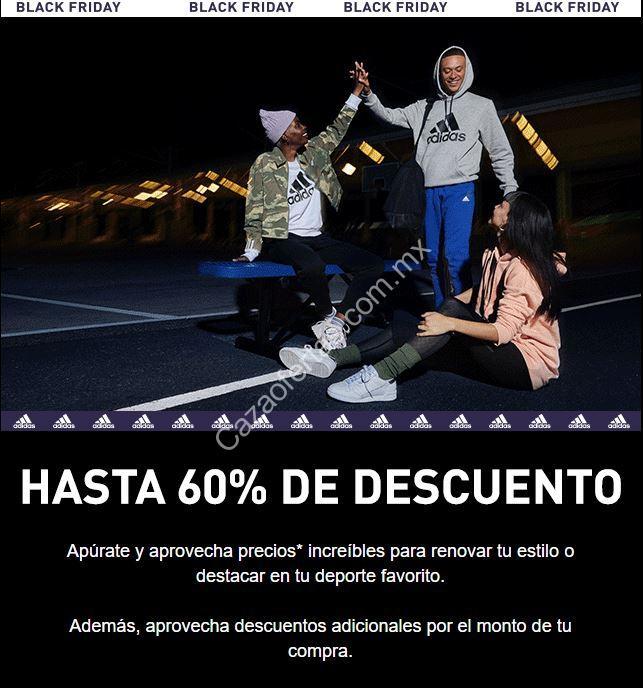 moderadamente Inocencia vendaje  Adidas Black Friday 2019: hasta 60% de descuento y más