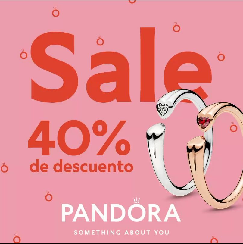 Pandora Big Sale 2020: Hasta 40% de descuento