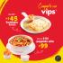 Cupón Vips Cuponerapp enchiladas suizas a sólo $45 pesos