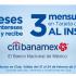Promoción Sams Club Citi Banamex de 18 meses sin intereses + 3 de bonificación del 21 al 24 de febrero