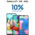 Promoción Coppel Samsung de 10% de bonificación en monedero en celulares seleccionados