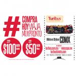 Promoción Turibus de boletos desde $50 pesos válidos por todo el 2020