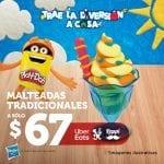 Promoción Vips Día del Niño 2020: Lata de Play Doh de regalo en la compra de platillos participantes