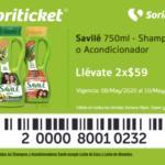 Cupón Soriana Soriticket en papel higiénico, jabón y shampoo del 8 al 10 de mayo 2020