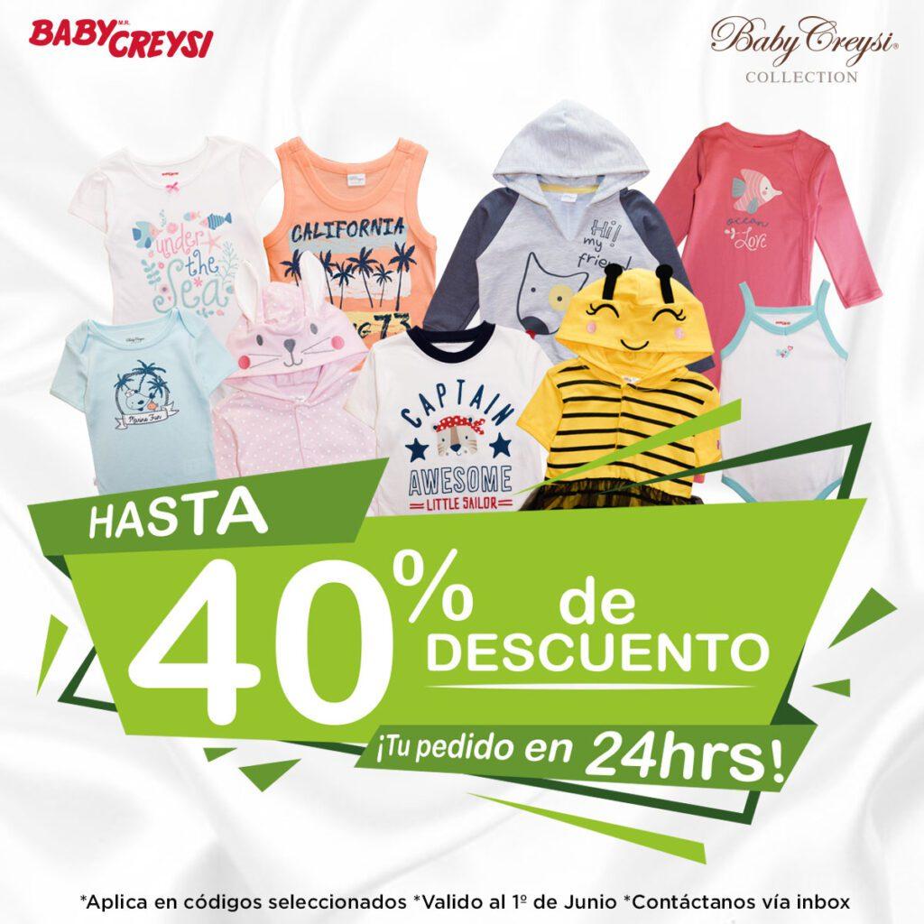 Promocion Baby Creysi Hasta 40 De Descuento