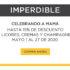 Promoción Palacio de Hierro Día de las Madres: hasta 15% de descuento en licores y champañas