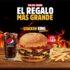 Promoción Burger King Día del Padre: Llévate la stacker cuádruple a precio de triple
