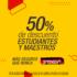 Promoción Grupo Senda: 50% de descuento en boletos de autobús para estudiantes y maestros