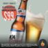 Promoción las Alitas sábados y domingo cubeta con 5 cervezas a $99 pesos