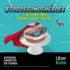 Promoción El Globo Todos Somos Héroes: Haz tu pedido por Uber Eats y recibe de regalo un globo de nata