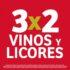 Julio Regalado 2020: 3×2 en vinos y licores del 30 julio al 4 agosto