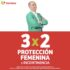 Julio Regalado 2020: 3×2 en protección femenina e incontinencia
