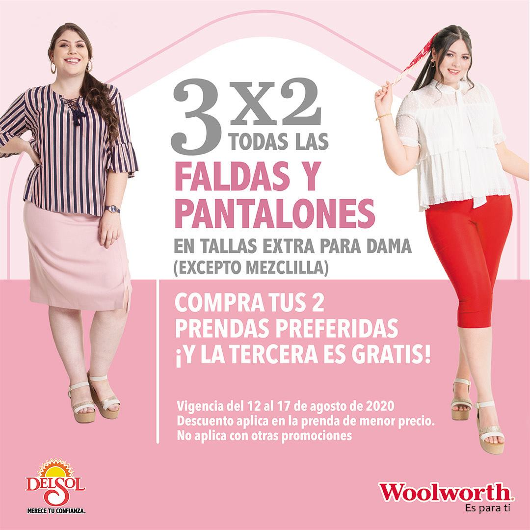 3 2 En Pantalones Faldas Y Blusas Para Mujer En Almacenes Del Sol Y Woolworth
