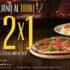 2×1 en pizzas y pastas nuevamente de regreso en Italiannis