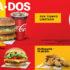 Promoción McDonalds Antoja-Dos: dúo de hamburguesa + refresco por $59