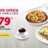 Promoción Vips Office: Desayuno, comida o cena a $79 con café y wifi ilimitados