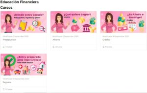 Condusef Proyecto Minerva: cursos GRATIS de educación financiera para mujeres