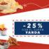 Código Jüsto de 25% de descuento en cervezas y botanas