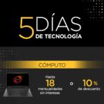 Palacio de Hierro 5 Días de Tecnología: hasta 50% de descuento + 12 msi